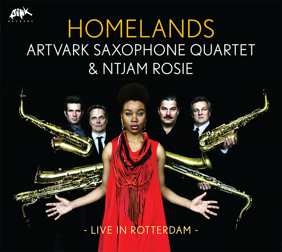 "Artvark Saxophone Quartet ft. Ntjam Rosie // ""Homelands"""