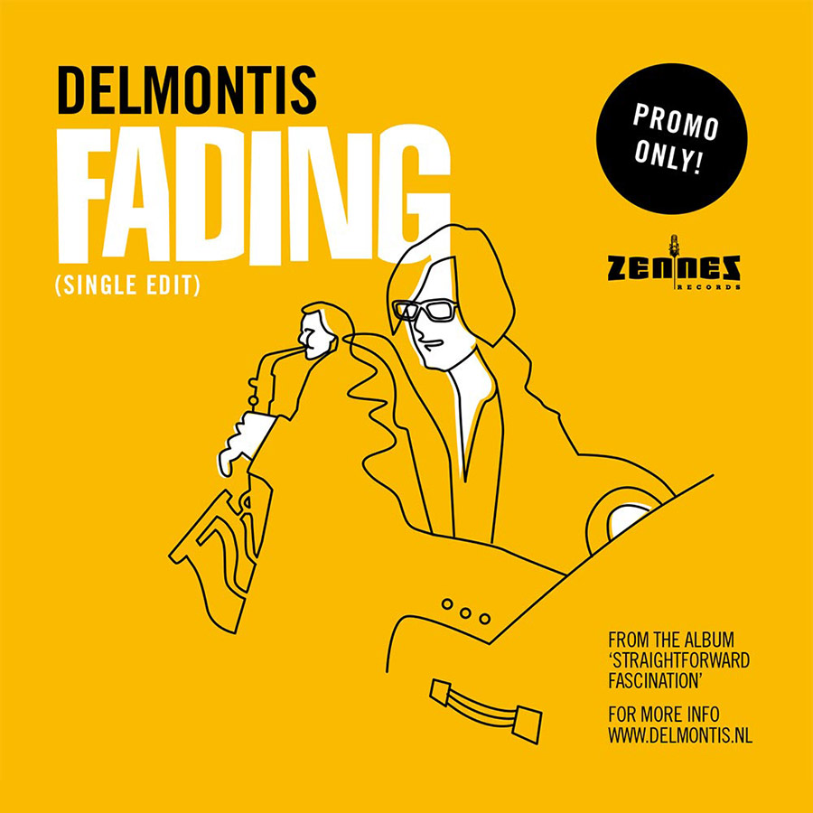 "Delmontis // CD single ""Fading"""