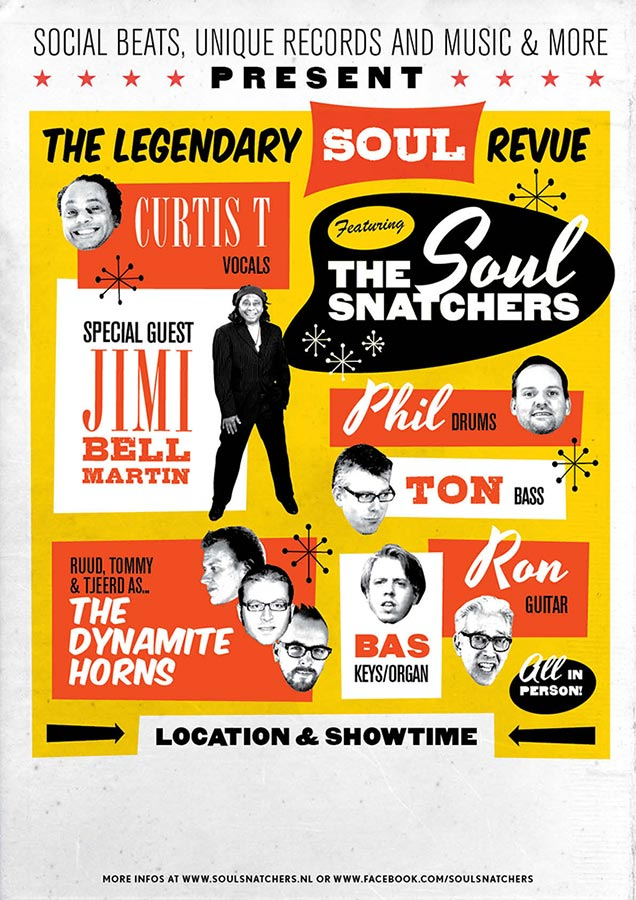 Tourposter 1 // The Soul Snatchers