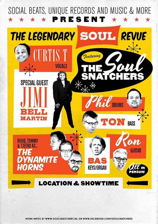 Tourposter 1 // The Soul Snatchers