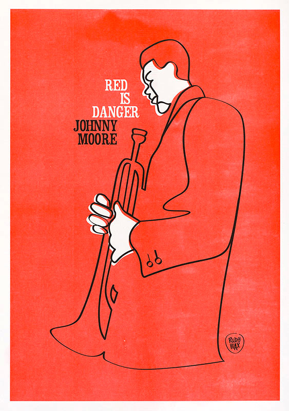 """2-tone Risoprint A3 // """"Red is Danger"""""""