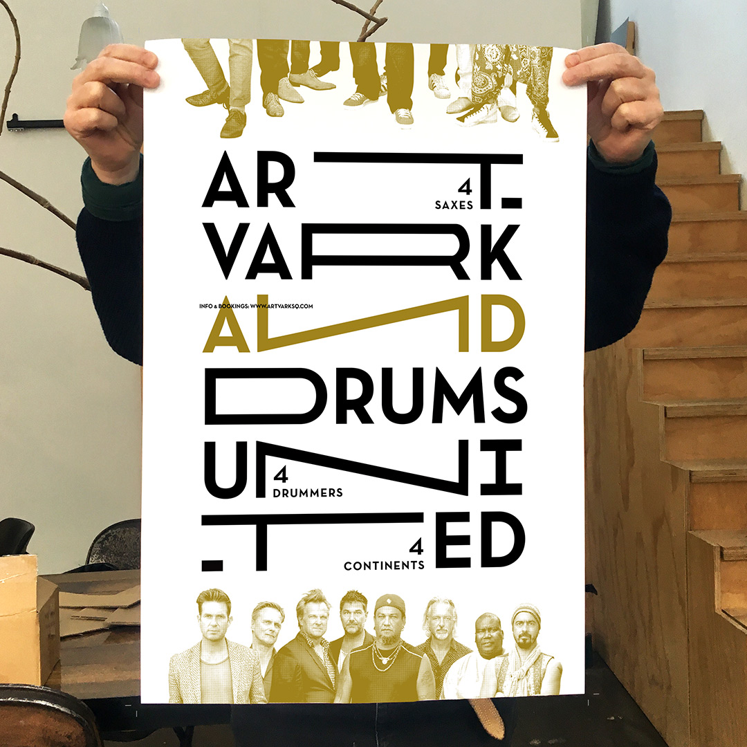 Poster // ASQ & Drums United