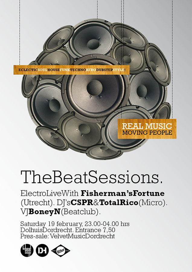 Poster // The Beat Sessions 1