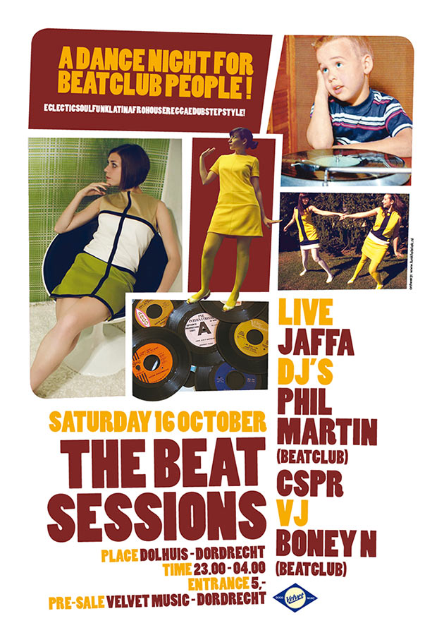 Poster // The Beat Sessions 3