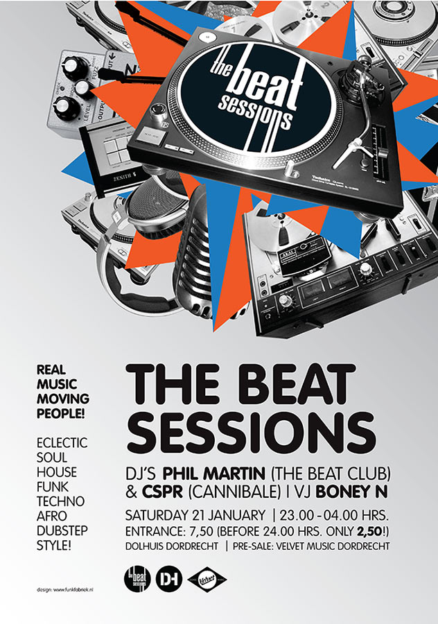 Poster // The Beat Sessions 4