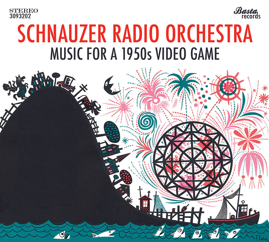 """Schnauzer Radio Orchestra // """"Music For A 50s Video Game"""""""