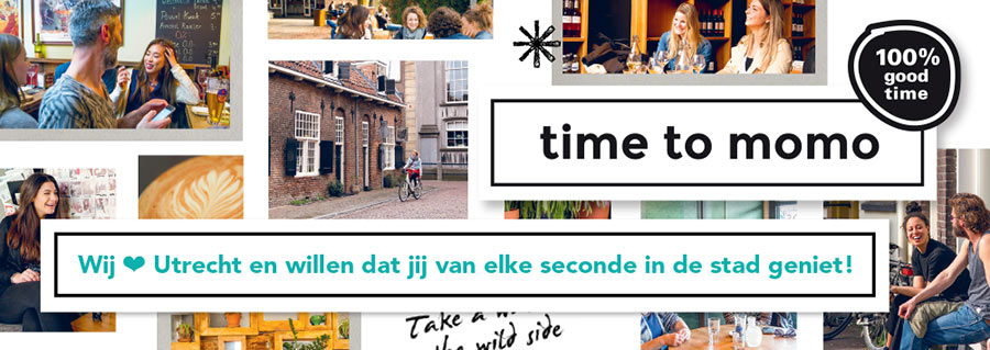 Time To Momo // Flyer Utrecht