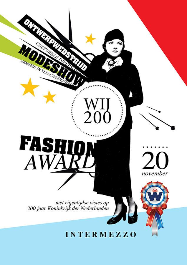 Flyer // Fashion Award WIJ 200