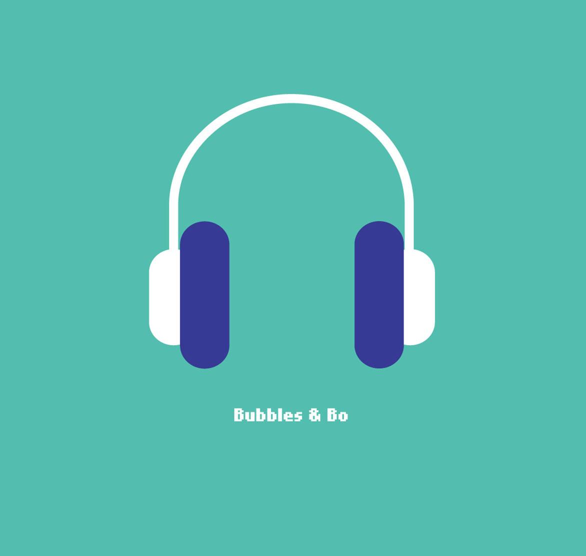 Illustratie // Bubbles & Bo Hoofdtelefoon