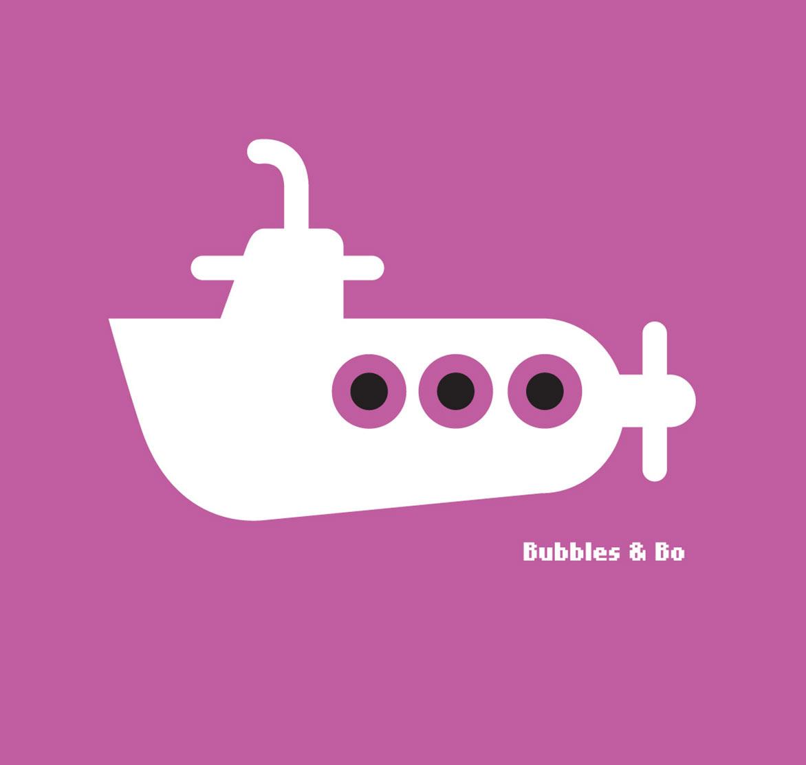 Illustratie // Bubbles & Bo Duikboot