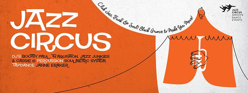 Flyer // Jazz Circus Tent