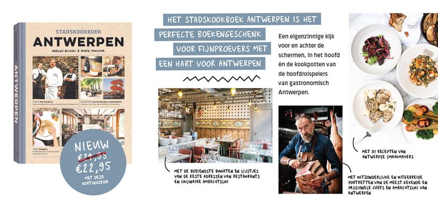 Stadskookboek Antwerpen // Flyer