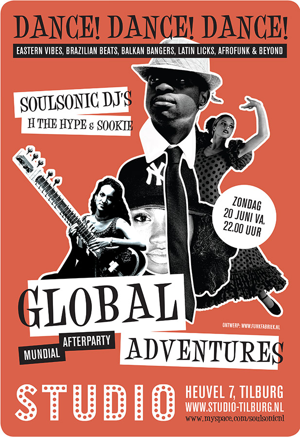 Flyer // Global Adventures