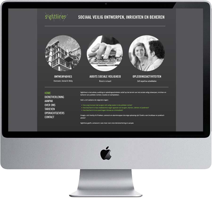 Website // Sightlines (www.sightlines.nl)