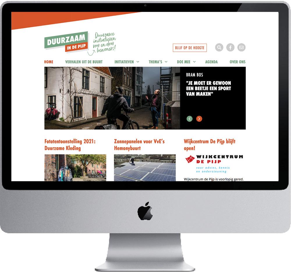 Website // Duurzaam In De Pijp