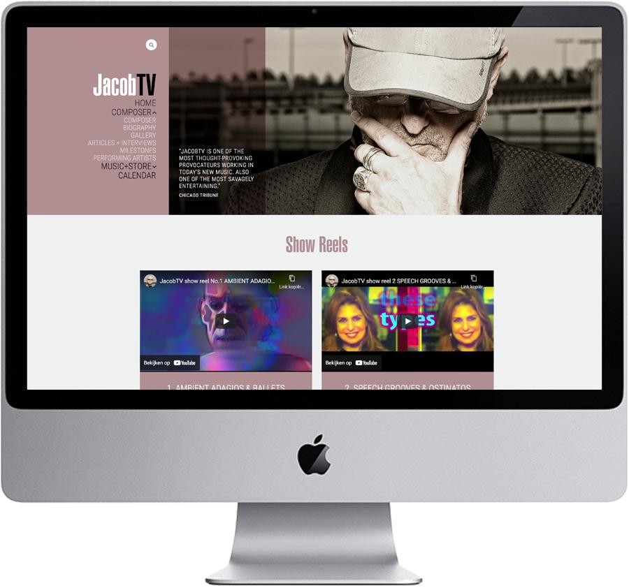 Website // Jacob TV